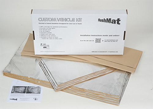 HushMat 66520 Sound and Thermal Insulation Kit (2007- Present Jeep Wrangler JK)