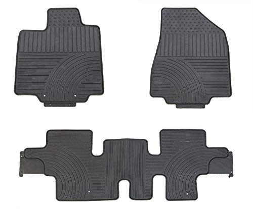 TMB All Weather Floor Mats for Nissan Pathfinder 2013+