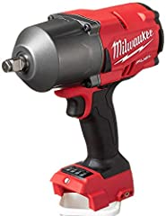 "Provides maximum productivity by removing stubborn and high torque fasteners up to 2X faster than the competition Most compact cordless High Torque Impact Wrench in its class at 8.39"" in length Industry leading 4-mode drive control with bolt removal ..."
