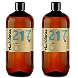 Naissance kaltgepresstes Rizinusöl (Nr. 217) 2 Liter (2 x 1000ml) - reines, natürliches, veganes,...