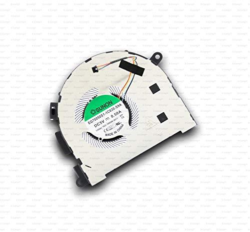 X-Comp EG70050S1-1C030-S9A - Ventilador de CPU para Lenovo Yoga C940-15IRH 81TE