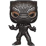 JTWMY Modelo de muñeca Modelo - Funko Pop! Marvel: Black Panther - Figura de vinilo variante de CHASE de edición limitada de Panther Black enmascarado (incluida con el estuche protector de caja) Pop J