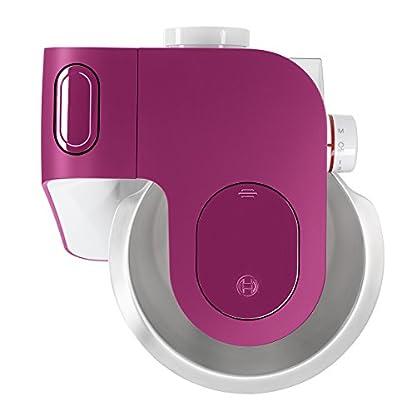 Bosch-MUM5-StartLine-Kuechenmaschine-MUM54P00-vielseitig-einsetzbar-grosse-Edelstahl-Schuessel-39l-Patisserie-Set-aus-Edelstahl-spuelmaschinenfest-900-W-weisspink