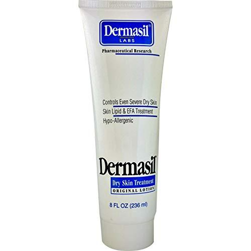 Dermasil Labs Dry Skin Treatment, 8 fl oz (Dermasil Original Lotion (Pack of 1))