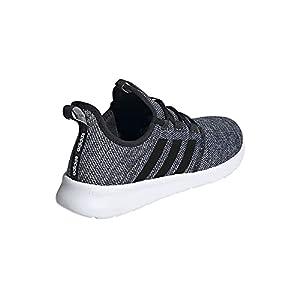 adidas Women's Cloudfoam Pure 2.0 Running Shoes, Black/White/Black, 8.5