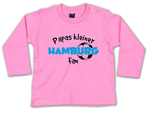 G-graphics Papas Kleiner Hamburg Fan Baby Sweatshirt 268.0232 (3-6 Monate, pink)