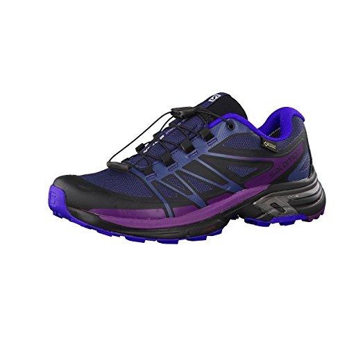 Salomon L39060900, Zapatillas de Trail Running Mujer, Azul (Slateblue/Spectrum Blue/Passion Pur), 36 2/3 EU