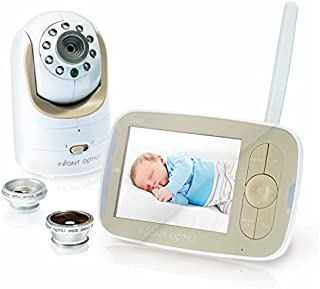 Infant Optics DXR-8 Video Baby Monitor with Interchangeable Optical Lens - (with Wide Angle Lens Combo)