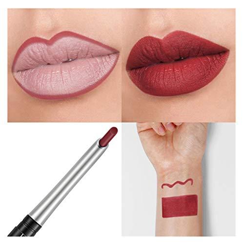 BOLANQ Wasserdichtes Professionelles Lipliner Makeup Wasserdichter Lippenzwischenstift 17 Farben