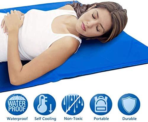 MCKEYEN KüHlmatte, Kühlpad zur Regulierung der Körpertemperatur, hilft bei Kopfschmerzen, Menopause, Nachtschweiß und Hitzewallungen,90x50cm