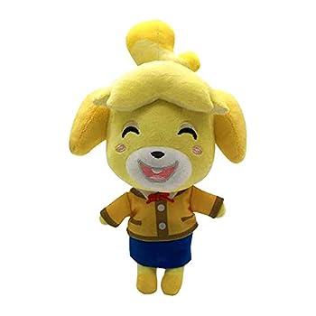Animal Leaf Game Plush Figure Stuffed Animal NPC Doll Animals Toys Gift 8 inches  Isabelle