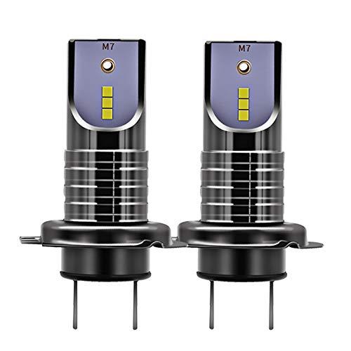 GENERIC Txvso8 H7 55W 26000LM Car LED Headlights Bulb Fog Lamp IP68 Waterproof 6000K White 2PCS