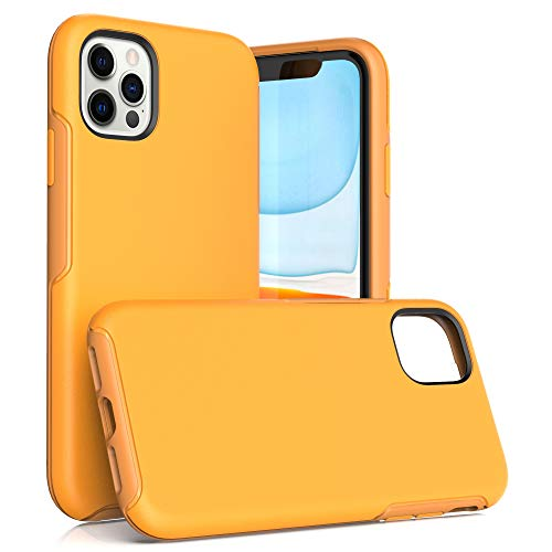 Krichit Ongoing Series Compatible with iPhone 11 Pro Max case, Anti-Drop and Shock-Absorbing case Compatible with 6.5-inch iPhone 11 Pro Max case (iPhone 11 Pro Max, Yellow)