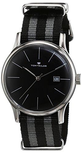 TOM TAILOR Watches Herren-Armbanduhr Analog Quarz Nylon 5415101