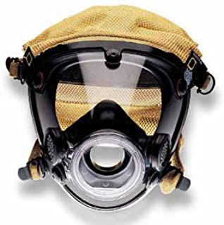 Scott AV-2000 Facepiece EPDM Rubber faceseal. Kevlar head harness. Comfort Seal