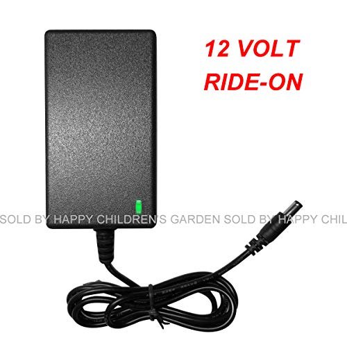 FLHFULIHUA 12 Volt Charger for Kids Ride On Toys 12 Volt Universal Battery Charger for Best Choice Products Wrangler SUV Kid Trax Dynacraft with Charging Indicator Light
