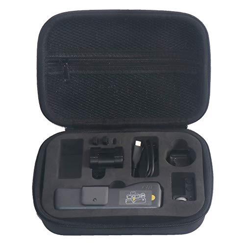Tineer Custodia rigida in EVA impermeabile Custodia rigida in robusta custodia per DJI Osmo Pocket Handheld Gimbal Accessorio per fotocamera
