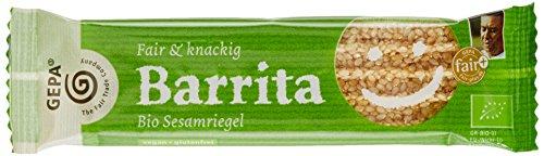 GEPA Baritta Sesamriegel, 15er Pack (15 x 20 g Packung) - Bio