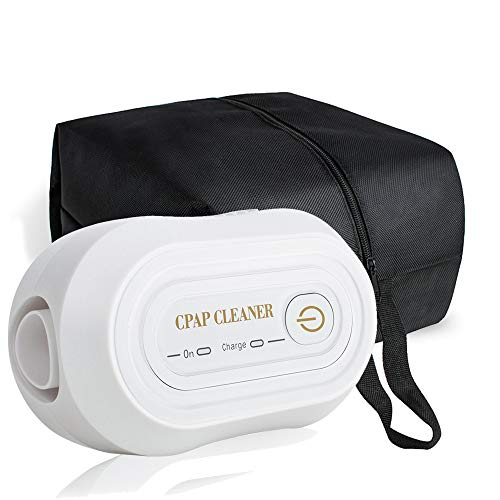 Denshine CPAP Cleaner, CPAP Cleaner and Sanitizer Includes Sanitizing Bag, for CPAP Machines, Masks, Cushion, 22mm Diameter of Tubing and Household Sterilization Cleaning