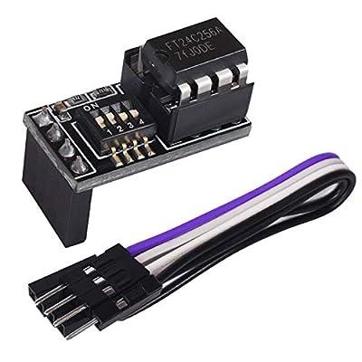 PoPprint BTT EEPROM V1.0 and EEPROM Module AT24C256 3D Printer Parts for SKR V1.4 / SKR V1.4 Turbo/SKR Pro V1.2
