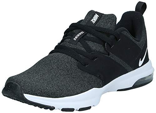 Nike Women's Air Bella Trainer Sneaker, Black/White - Anthracite, 9 Regular US