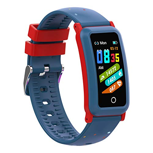 BingoFit Kids Fitness Tracker with Blood Pressure, Heart Rate Monitor Activity Tracker for Girls Boys Teens, Sleep Step Monitor, Fitness Watches with Alarm Clock and Blood Oxygen, Great Kids Gift