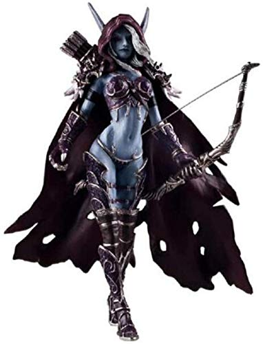 YDDM World of Warcraft Abandoned Queen Sylvanas Wind Corredor PVC Figura