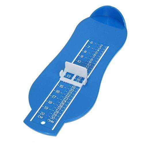 ADAFY Babywaage Footful Fußmessgerät Schuhe Messgerät Lineal Waage für Baby messen Fuß zu Hause