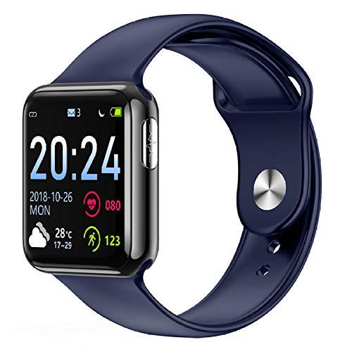 Cynyy Smart-Armband Fitness-Armband wasserdichte Aktivität Schrittzähler Herzfrequenz-Kalorien-Messgerät Blutdruck Smart-Armband