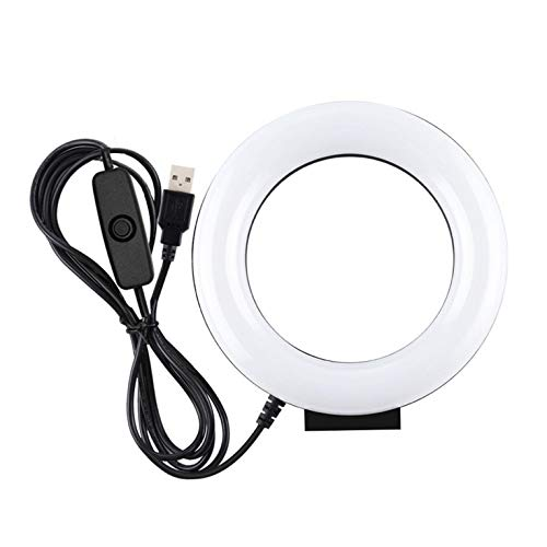 Live Broadcast White Light Monochromatic Temperature Led Ring Light Cambered Ring Photography Lights