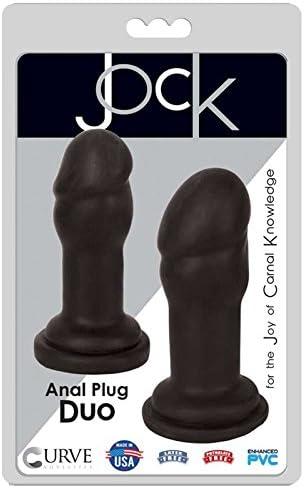 Curve Novelties Jock Anal Sacramento Mall Plug Black Duo Award