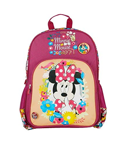 Bagtrotter - Zaino a 1 scomparto Disney Minnie Bordeaux