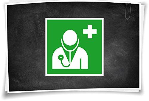 Medianlux reddingsteken E009 dokter sticker pictogram reddingswaarschuwing bord aanwijzing