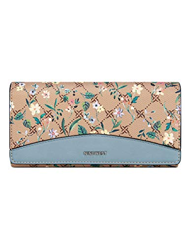 Nine West womens Wallet,LOGO FLORAL,Small