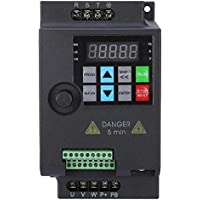 Mini VFD, inversor de frecuencia Inversor convertidor de frecuencia variable trifásico para motor, variador de velocidad 220V / 380V 0.75/1.5/2.2KW (380VAC-1.5KW)