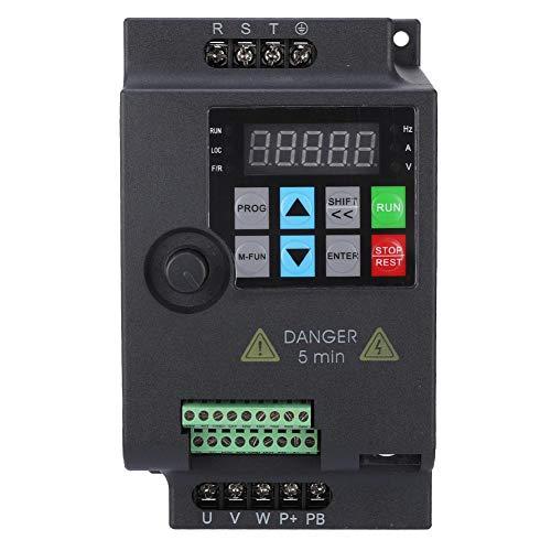 Mini VFD, Frequenzumrichter Frequenzumrichter Frequenzumrichter Frequenzumrichter für Motor, Drehzahlumrichter 220V / 380V 0.75/1.5/2.2KW (380VAC-1,5 kW)