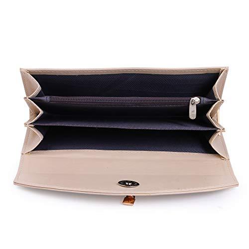 Women Marks Women's Handbag and Wallet (Black&, CREAM Combo of 2)