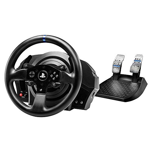 Thrustmaster T300RS - Volante Include 2-Pedali, Force Feedback, 270°-1080°, Eco-Sistema, PS4 / PS3 / PC. Funziona con Giochi PS5