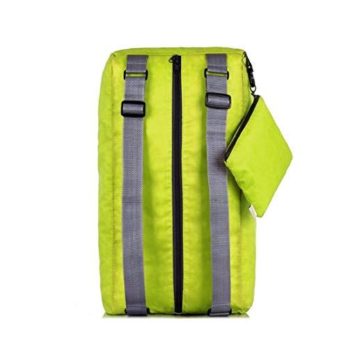 Xasclnis Waterdichte tas, opvouwbaar, licht, met opbergtas voor fitness, lopen, wandelen, klimmen, kamperen