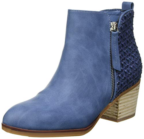 XTI 42371, Botas Cortas al Tobillo Mujer, Jeans, 41 EU