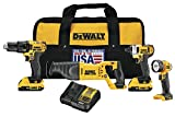Best Power Tool Combo Kits - Dewalt DCK420D2 20V MAX Cordless Lithium-Ion 4-Tool Combo Review