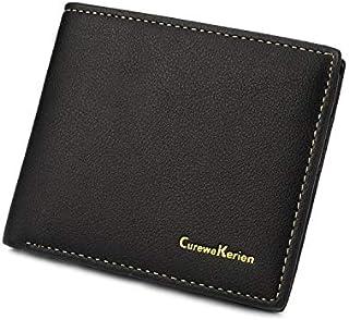كيوروي كيرسين جلد صناعي اسود للرجال - محفظة