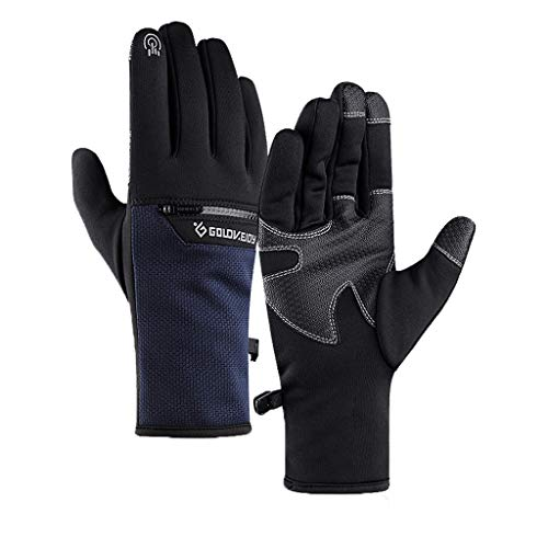Fantastic Deal! Uplord Mens Winter Warm Gloves Waterproof Gloves Winter Gloves for Cycling and Outdo...