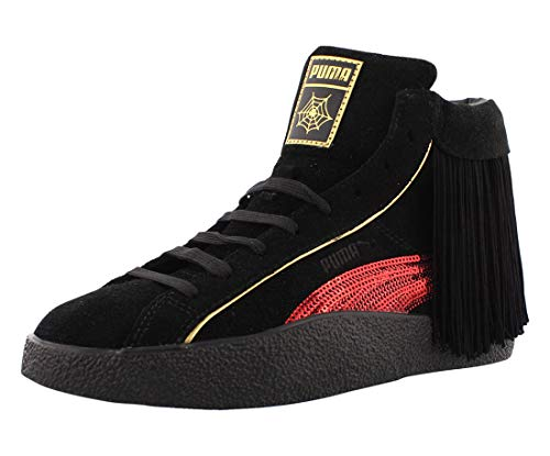 PUMA Womens Love X Charlotte Olympia High Sneakers Shoes Casual - Black - Size 6 B