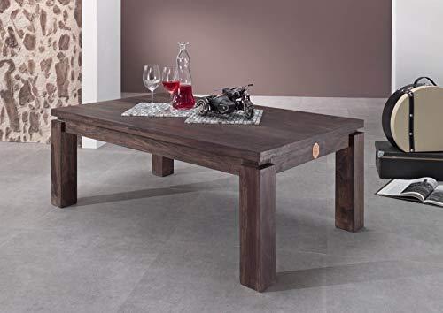 Table basse carrée 90x90cm - Bois massif de palissandre laqué - METRO POLIS #175