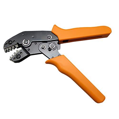 IZOKEE Crimpzange Kabelschuhe Crimpwerkzeuge Crimping Tool Crimping Plier für AWG 28-16 0.1-1.5mm² PH2,0mm/XH2,54mm/Dupont 2,54mm/3,96mm/KF2510/JST Servo Terminals Pinheadern Stecker