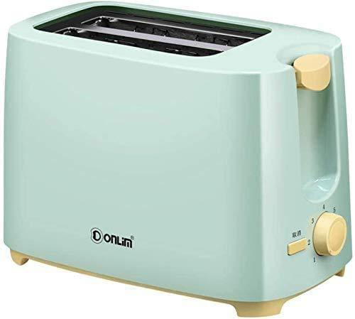 Broodmachines, Broodrooster Huis Ontbijt spit Driver 2 stuks Mini Automatic Toaster (Kleur: Groen) ZHW345