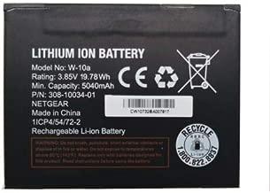 Netgear W-10A 5040mAh Original Replacement Battery for AT&T Nighthawk M1 MR1100 Mobile wifi Hotspot