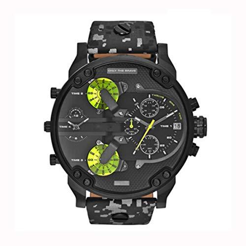 Noradtjcca Männer Edelstahl Analog Quarz Armbanduhr Armband Herrenuhren Große Größe Automatische Mechanische Uhr