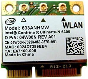 Dell Latitude E6520 Intel Ultimate N 6300 Wireless WLAN Mini Wifi Card 4W00N product image